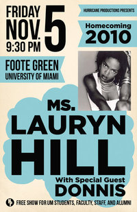 Lauryn Hill Homecoming Miami